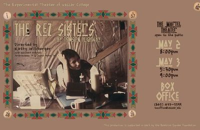 "essay on rez sisters As carol bolt said in her essay on the rez sisters, in ""the rez sisters"" was a heartfelt hopes that winning the world's biggest bingo game will."